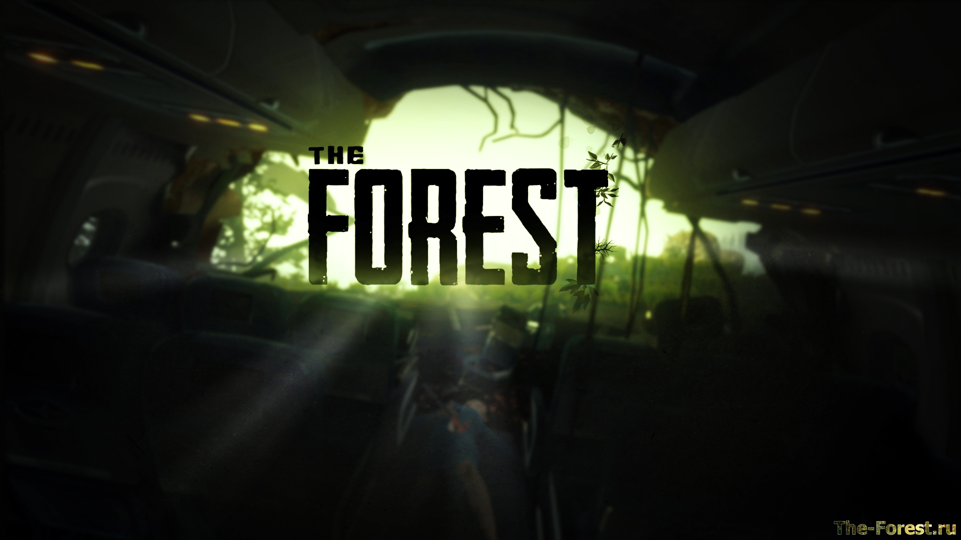 Карта the forest 0. 46 | simple living tree in the world places.